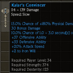 Kalar's Convincer