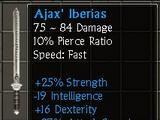 Ajax' Iberias