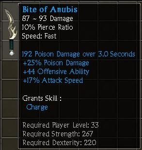 Bite of Anubis