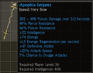 Apophis Serpent