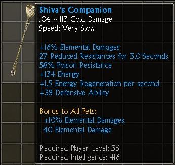 Shiva's Companion
