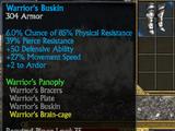 Warrior's Buskin