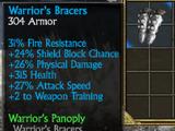 Warrior's Bracers