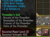 Greaves of the Firewalker