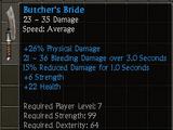 Butcher's Bride