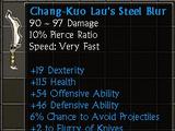 Chang-Kuo Lau's Steel Blur
