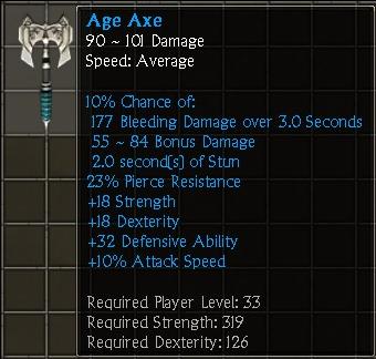 Age Axe