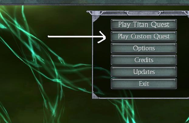 Choosing Custom Quest