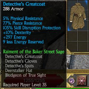 Detective's Greatcoat
