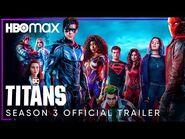 Titans Season 3 - Official Trailer - HBO Max
