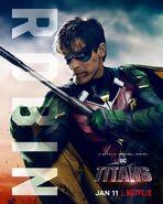 Titans S1 Robin Netflix Poster