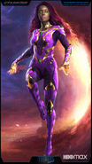 Starfire season 3 concept artwork