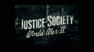 Justice Society World War II non-animated