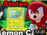 Stolen Pokemon Card