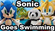 TT Movie Sonic Goes Swimming