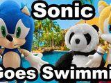 Sonic Goes Swimming