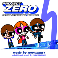 Project Zero OST concept front cover