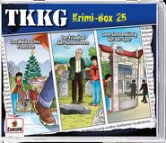 Cover - Krimi-Box 25 - 3 CDs
