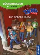 TKKG Junior Bücherhelden Klasse 1 Cover - Die Schoko-Diebe