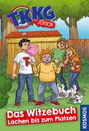 TKKG Junior Cover - Das Witzebuch Lachen bis zum Platzen