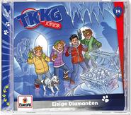 TKKG Junior 14 - Eisige Diamanten (Höspiel)