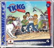 TKKG Junior 12 - Schmierige Angelegenheiten (Hörspiel)