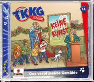 TKKG Junior 13 - Das verpfuschte Gemälde (Hörspiel)
