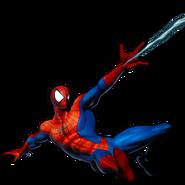 Spider Man pose (Marvel vs Capcom 3)