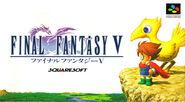 Final Fantasy V SNES Cover