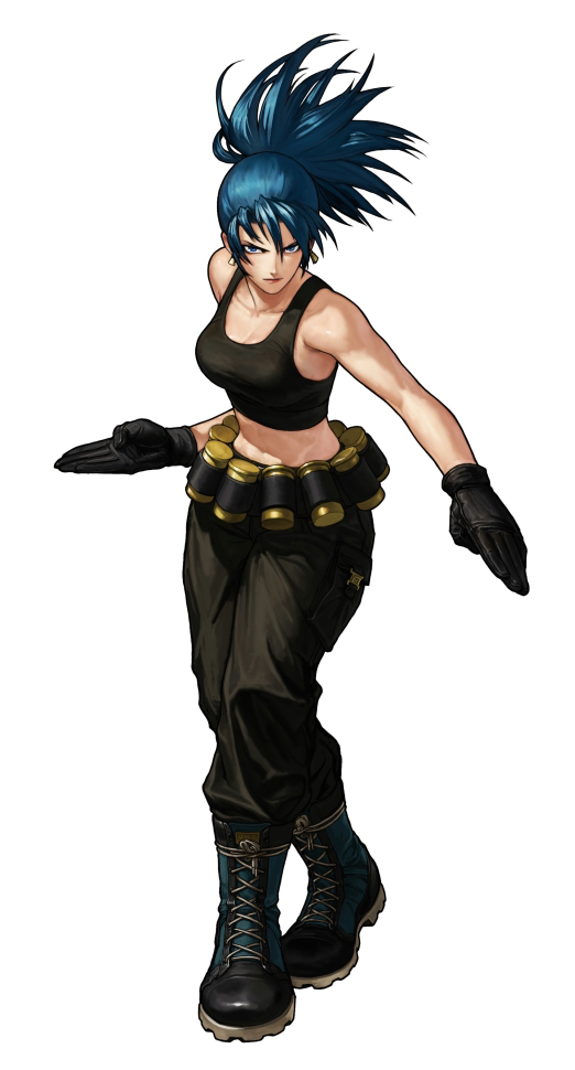 Leona Heidern Wiki The King Of Cartoons Fandom