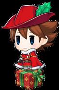 Bartz Klauser Santa (Pictlogica Final Fantasy)