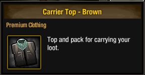 Carrier Top