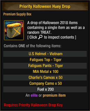 Priority Halloween Huey Drop