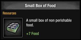 Small Box of Food (TLS:DZ)