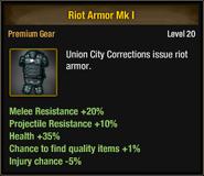 Riot Armor Mk I