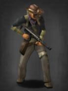Survivor with suppressed MP7