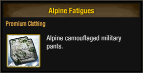 Alpine Fatigues