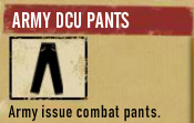 Army DCU Pants