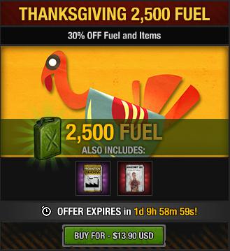 Tlsdz thanksgiving 2500 fuel package 2014.png