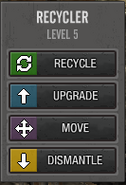 Recycle option