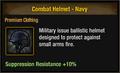 Combat Helmet - Navy