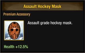 Assault Hockey Mask