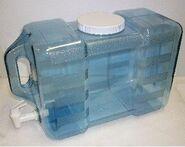 Waterplastic container