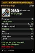 White Z-Mas Meritorious Merry Minigun