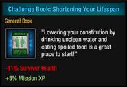 Shortening Your Lifespan
