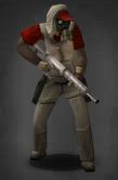 Survivor with Long Pistol