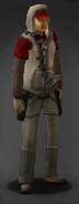 Survivor with Bandolier
