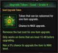 Tlsdz upgrade token from free token package