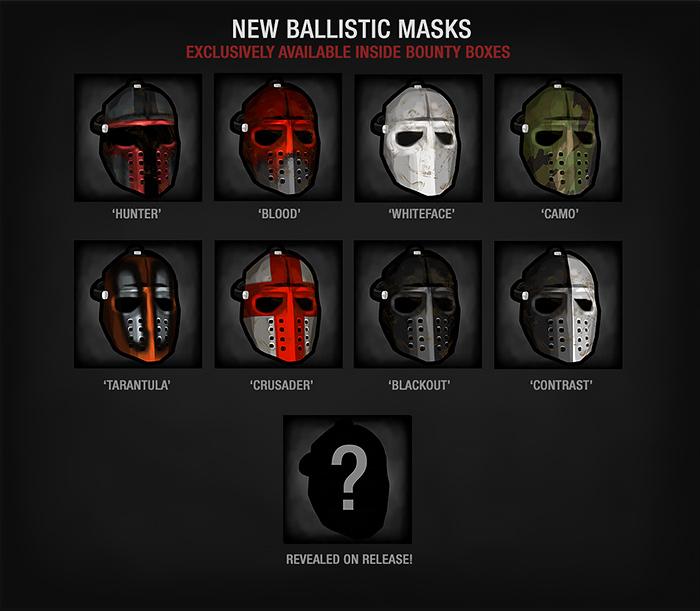 Bounty Ballistic Mask