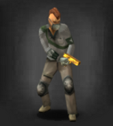 Survivor with Gold High Power .50